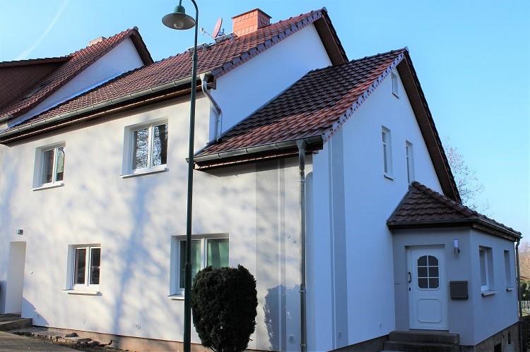 Doppelhaushälfte vorher - nachher